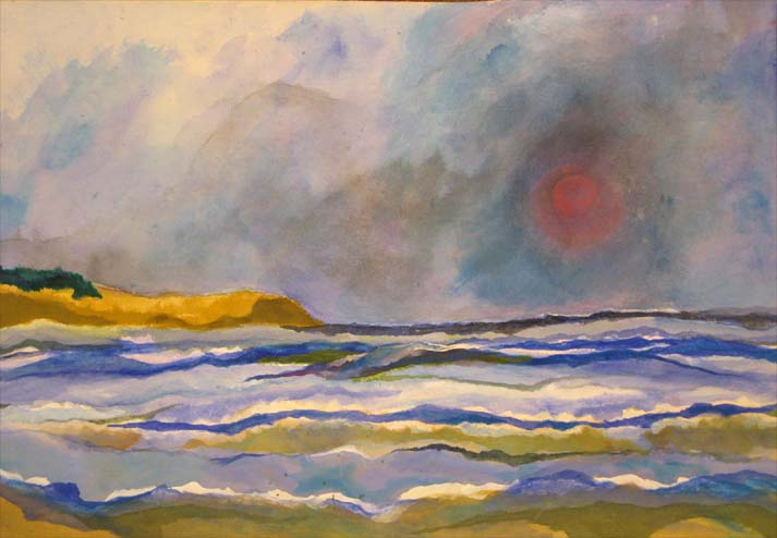 Peintre belge Rudi Barnet - Eva Houdova